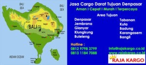 Jasa Cargo Darat Murah Tujuan Denpasar Bali