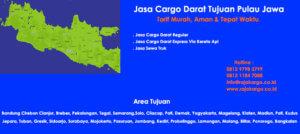 Tarif Cargo Darat Murah Tujuan Semarang