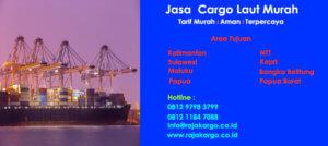 Tarif Jasa Cargo Laut Tujuan Kepri