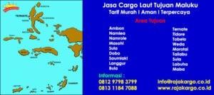 Tarif Cargo Laut Tujuan Ambon