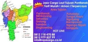 Tarif Jasa Cargo Laut Tujuan Pontianak
