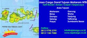 Tarif Cargo Darat Murah Tujuan Mataram NTB