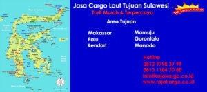 Tarif Cargo Laut Tujuan Mamuju