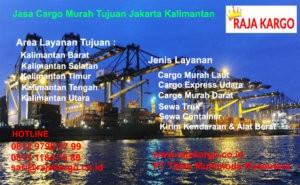 Cargo Murah Jakarta Tujuan Kalimantan