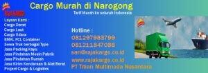 Cargo Murah di Narogong